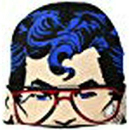 Superman Men's Flip Mask Beanie, Black, One Size](Superman Beanie)