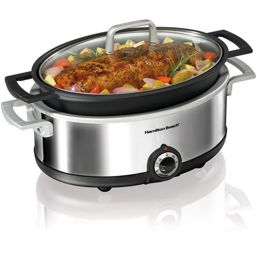 Hamilton Beach 5.5-Quart Stovetop-Safe Slow Cooker