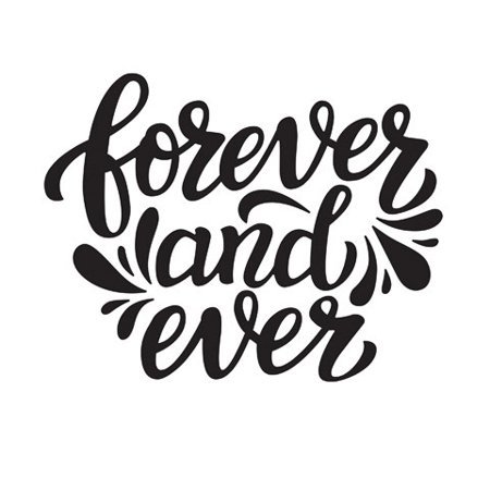 Forever And Ever Embossing Folder: 4.25 X 5.75
