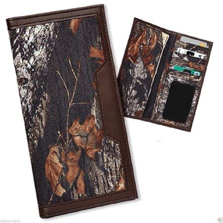 Casual Series Camo Nylon Pocket Secretary Wallet