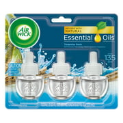 (2 pack) Air Wick Scented Oil 3 Refills, Turquoise Oasis, (6X0.67oz), Air Freshener