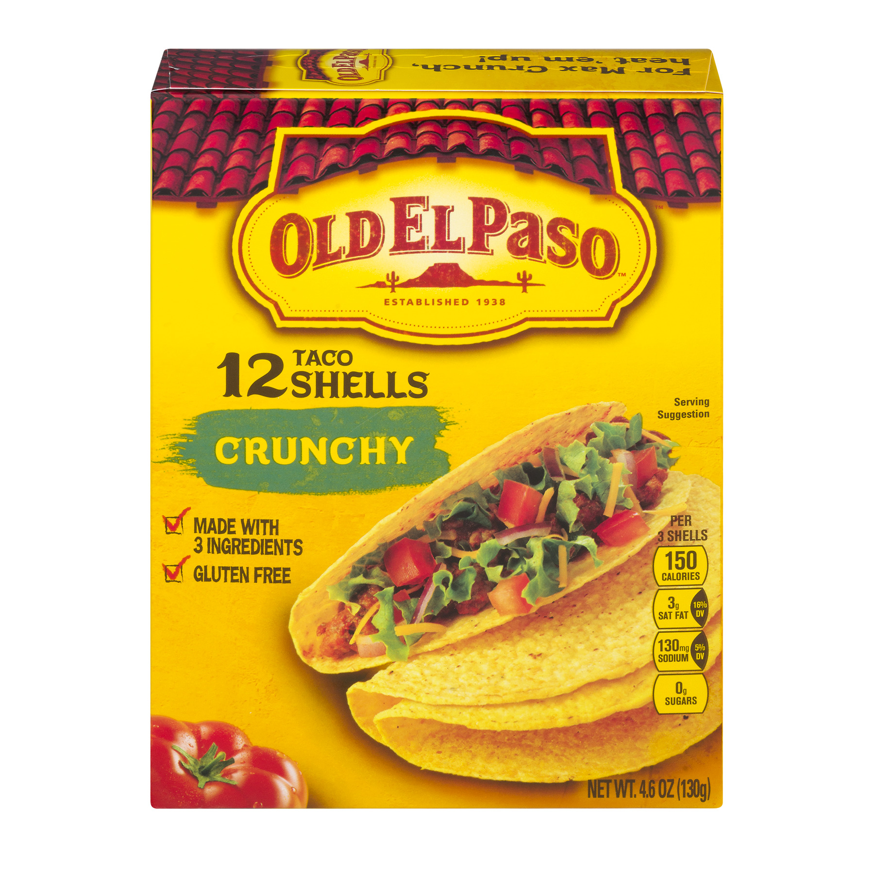 Old El Paso™ Crunchy Shells 12 - 4.6 oz Box