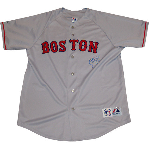 Steiner Sports Curt Schilling Autographed Red Sox Replica Away Jersey
