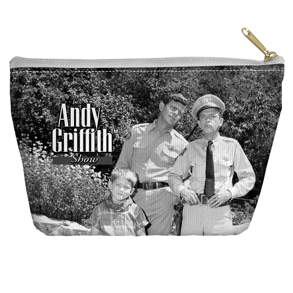 Andy Griffith Lawmen Accessory Pouch White 12.5X8.5