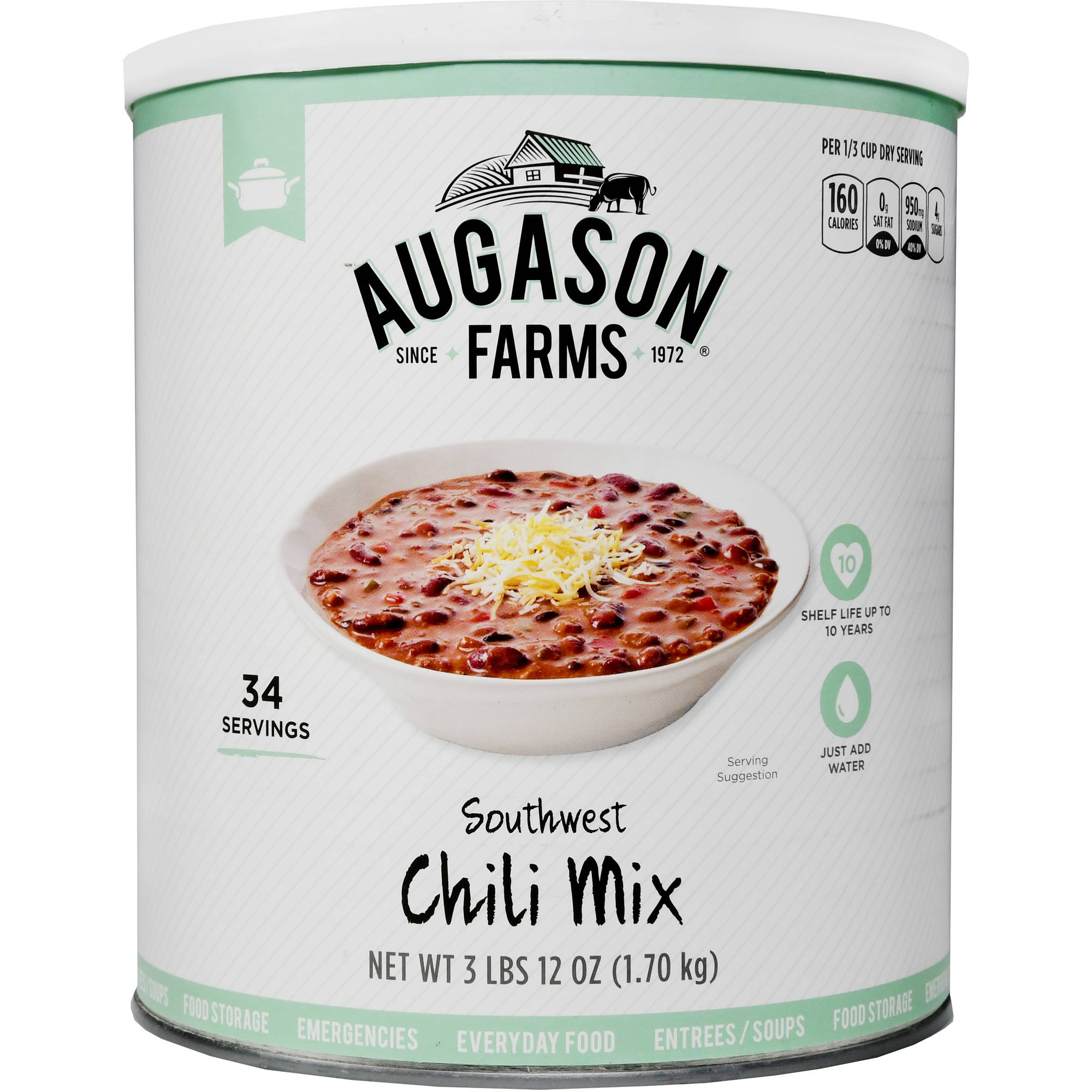 Augason Farms Southwest Chili Mix 60 oz by Generic