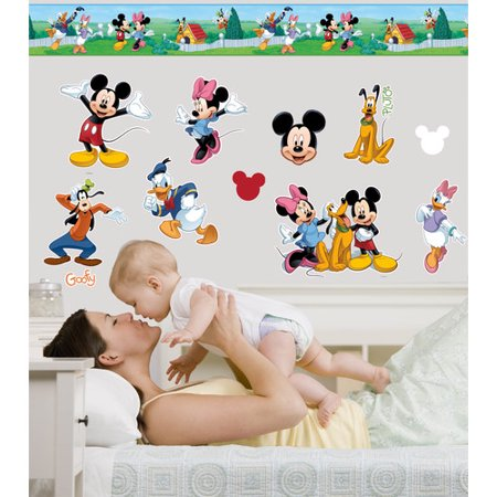 Wallhogs Disney Mickey and Friends Room Makeover Wall Decal