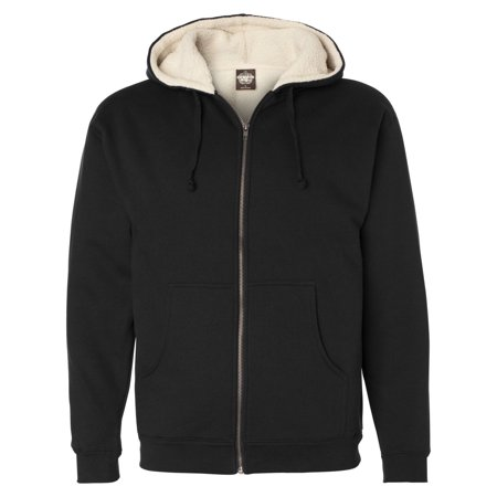 Independent Trading Exp40shz Sherpa Lined Full Zip Hooded Sweatshirt