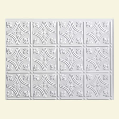 """ACP B50 Fasade - 24-1/4"""" x 18-1/4"""" Traditional Style - Pattern 1 - Wall Tile - P"""