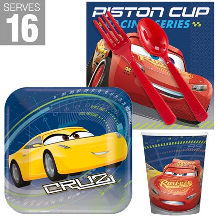 Disney Cars Snack Pack (For 16 - Card Party Supplies