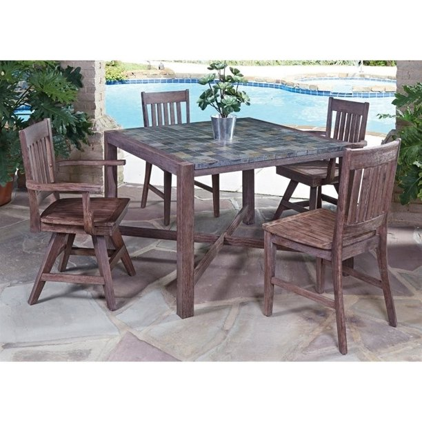 Morocco 5PC Dining Set