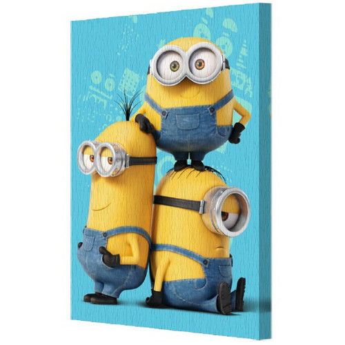 Pyramid America Minions Graphic Art on Canvas