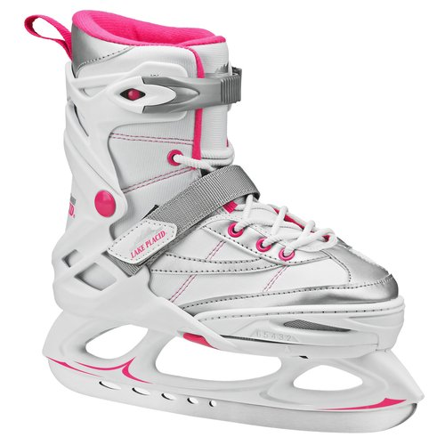 Lake Placid Monarch Girls' Adjustable Ice Skates by Ice Skates