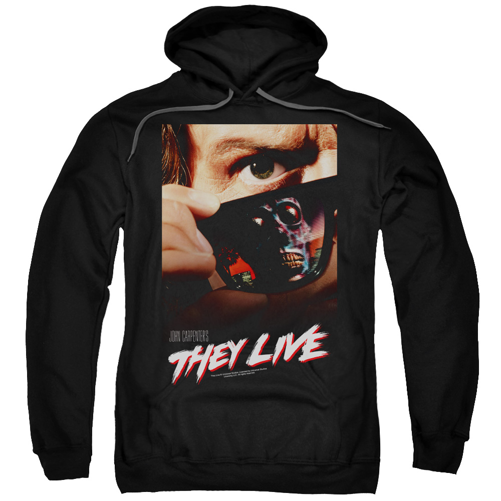 They Live Poster Mens Pullover Hoodie