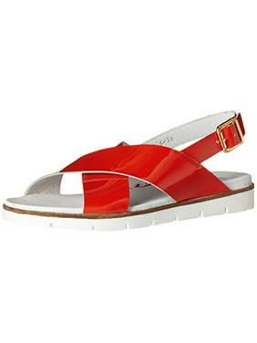 87265e9f4 Orange Womens Sandals   Flip-flops - Walmart.com