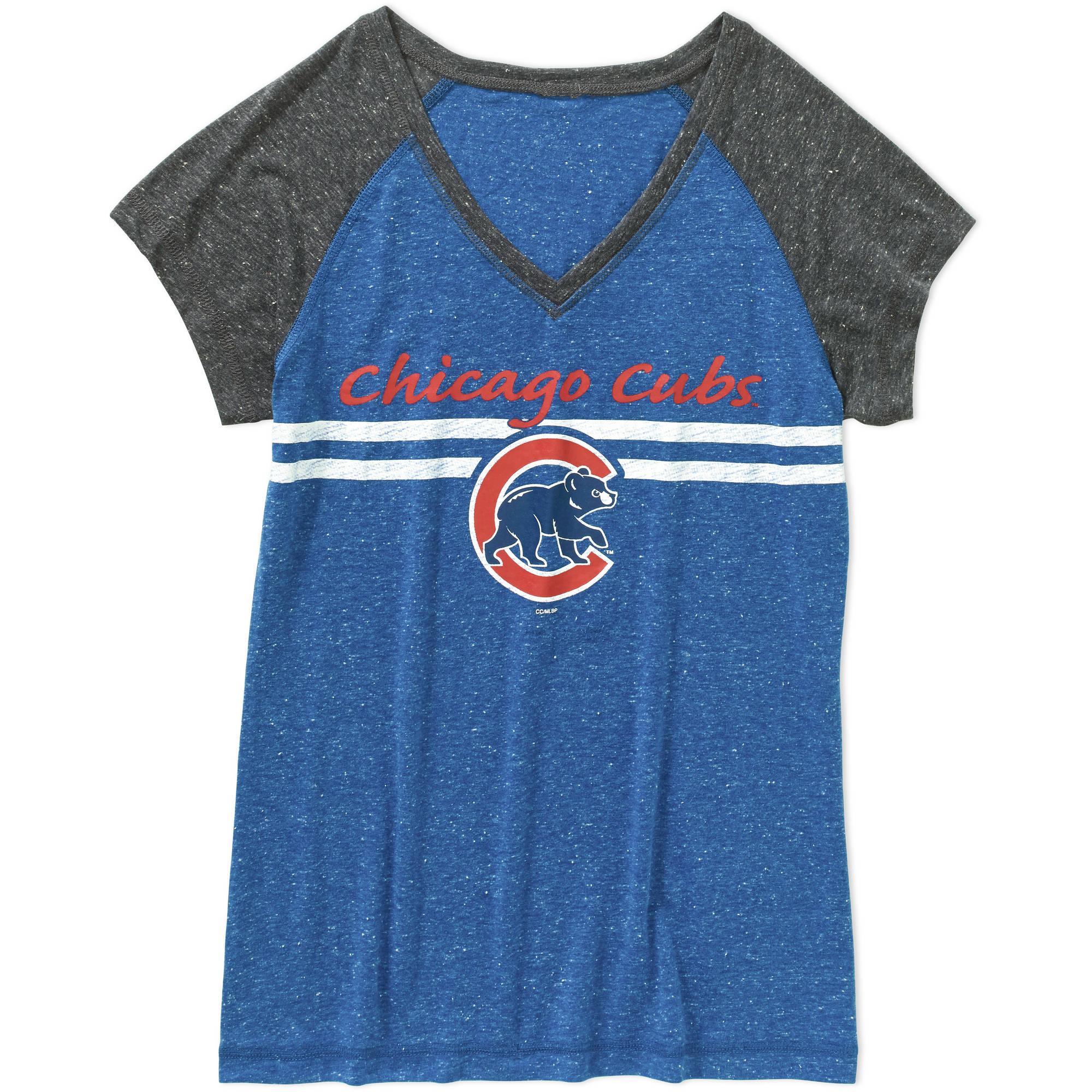 MLB Women's Chicago Cubs Short Sleeve Top