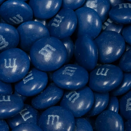Dark Blue M&Ms Candy 2lb  - Milk Chocolate](Navy Colored Candy)
