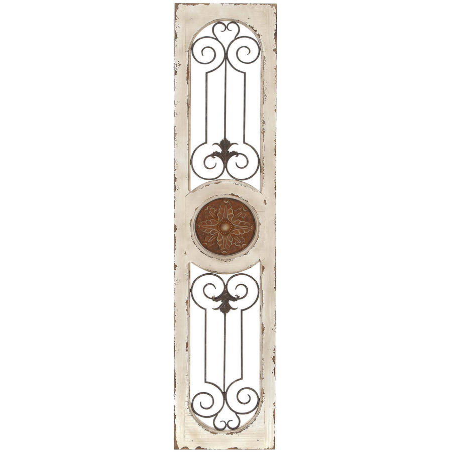 Wood Metal Wall Panel 5 Wall Decor