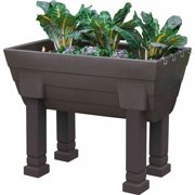 Garden Wizard Elevated Garden Complete, Oak