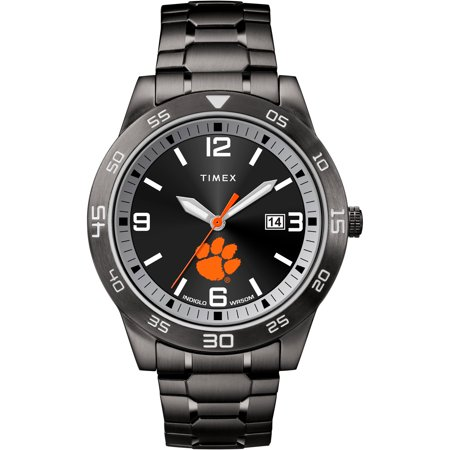 Clemson University Tigers Men's Black Acclaim - Detroit Tigers Heart Watch