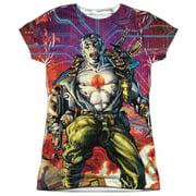 Bloodshot - Cyber War - Juniors Cap Sleeve Shirt - XX-Large