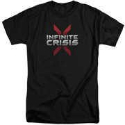 Infinite Crisis Logo Mens Big and Tall Shirt