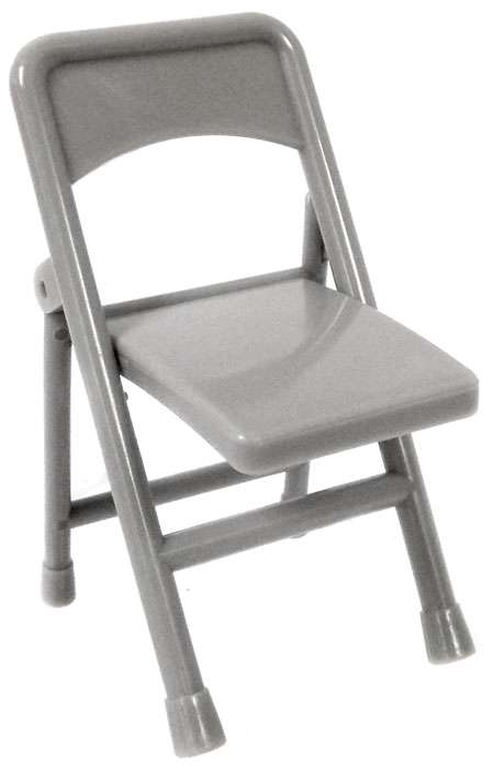Wrestling Accessory for Action Figures set of 10 x Black Folding Chairs New