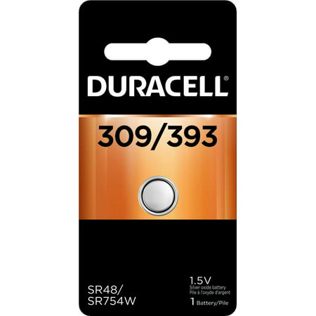 Duracell 309/393 1.5V Watch and Calculator Battery 1.5v Watch Replacement Battery