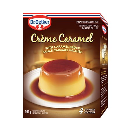 - (3 Pack) Dr. Oetker Flan Creme Caramel, 3.7 Ounce Boxes