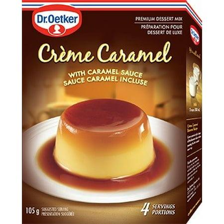 4 Ounce Caramel - (3 Pack) Dr. Oetker Flan Creme Caramel, 3.7 Ounce Boxes