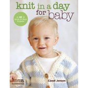 Knit in a Day for Baby : 20 Quick & Easy Projects (Paperback)