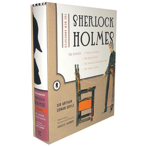 New Annotated Sherlock Holmes: The Novels: A Study In Scarlet / The Sign Of Four / The Hound Of The Baskervilles / The Valley Of Fear