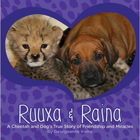 Ruuxa & Raina: A Cheetah and Dog's True Story of Friendship and Miracles (Hardcover)