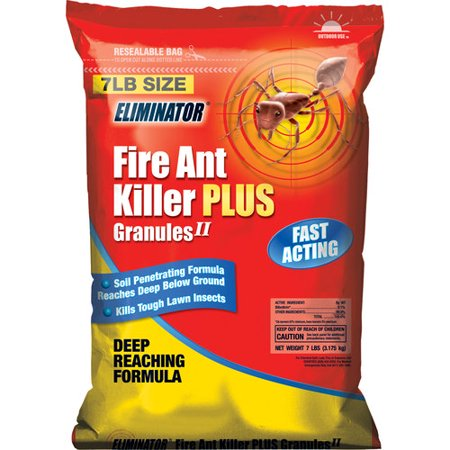 eliminator fire ant killer yard treatment granules 7 lbs. Black Bedroom Furniture Sets. Home Design Ideas