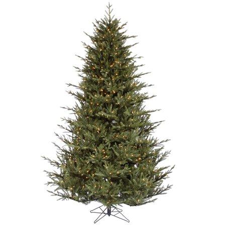 Vickerman Pre-Lit 4.5 Itasca Frasier Artificial Christmas Tree, Dura-Lit, Clear Lights