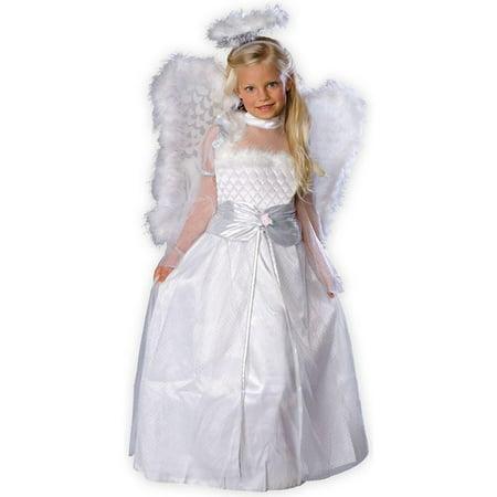 Rosebud Angel Child Costume - Dr Who Angel Costume