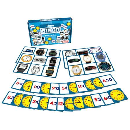 Junior Learning - Time Bingo Learning Educational (Best Bingo In Vegas)
