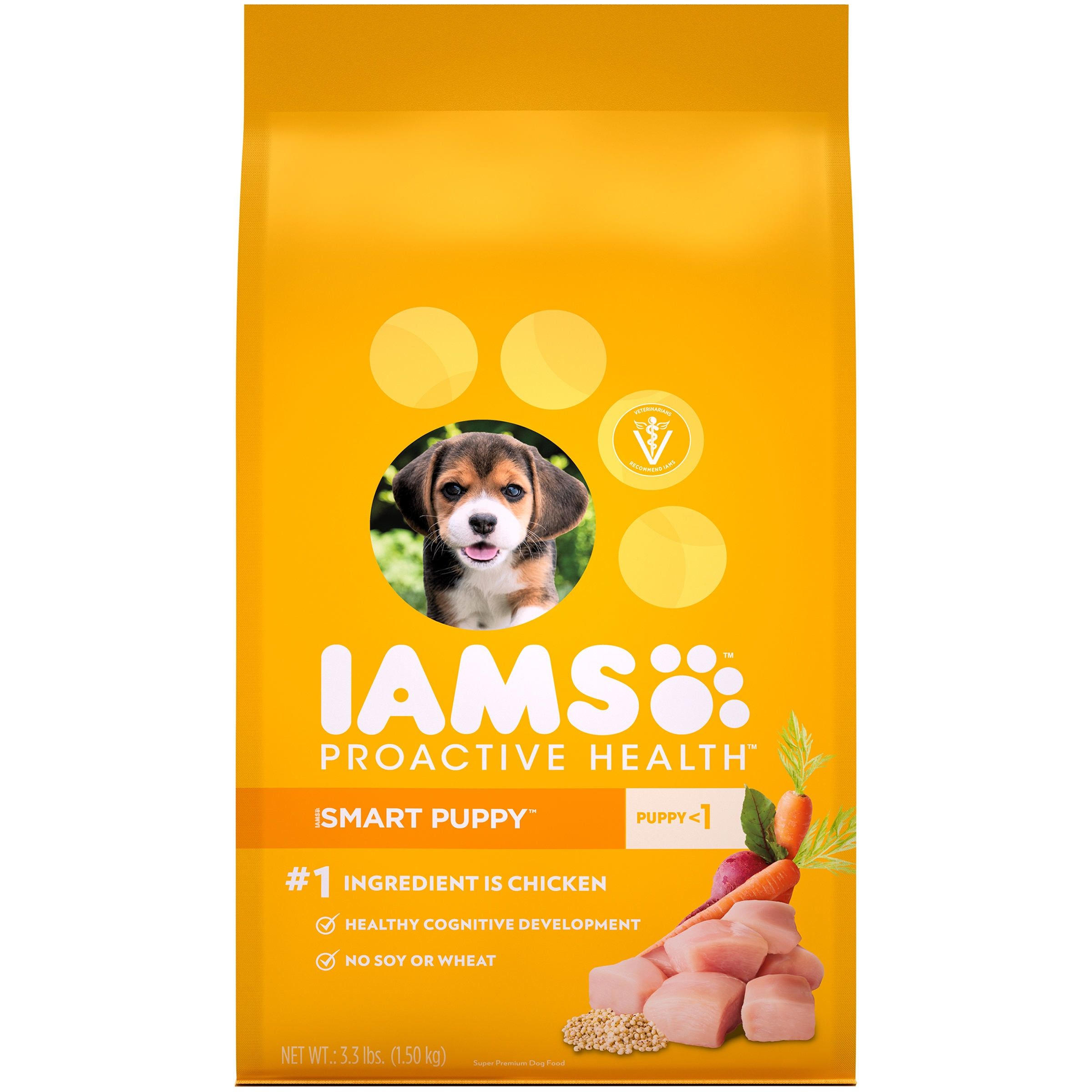 Iams ProActive Health Smart Puppy Original Premium Puppy Food, 3.3 lb