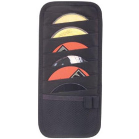 DDI 1473950 12-PC CD on Car Visor – Black Case Of 100