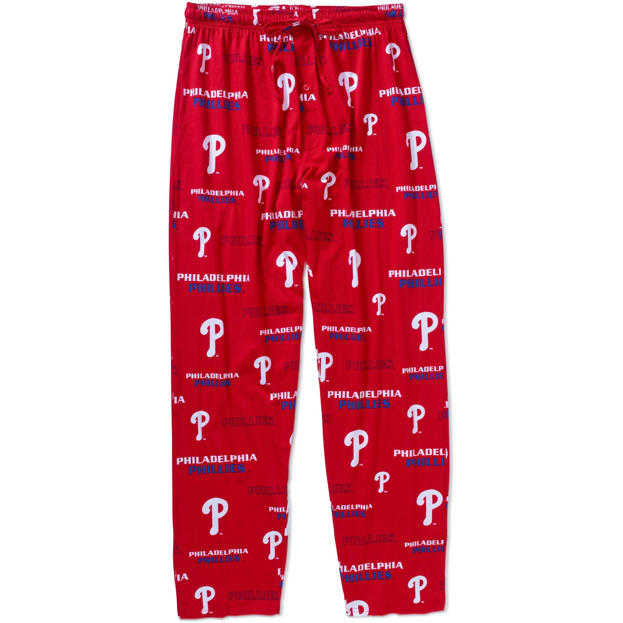 MLB Big Mens Philadelphia Phillies Knit Sleep Pant, 2XL