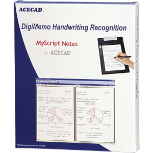 Solidtek ACECAD DigiMemo Handwriting Recognition software DM-OCR - OCR Utility