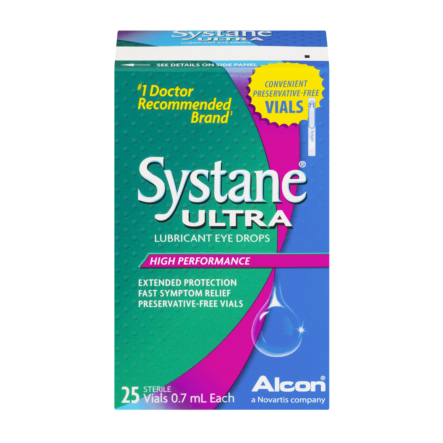 Systane Ultra Lubricant Eye Drops High Performance Vials - 25 CT25.0 CT - Walmart.com | Tuggl