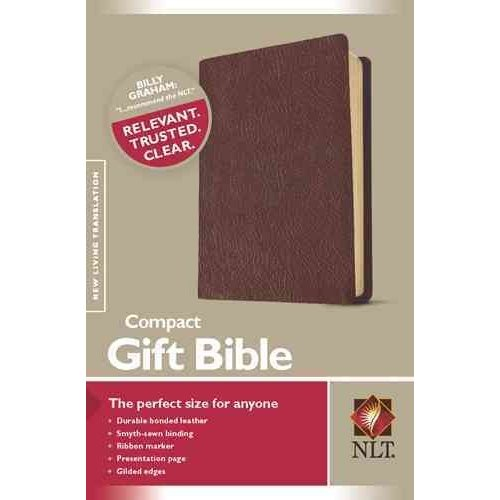 Holy Bible: New Living Translation, Burgundy, Bounded Leather