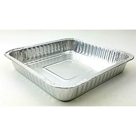 Handi-Foil Square Aluminum Foil Cake Pan - Disposable Baking Tin REF# 308