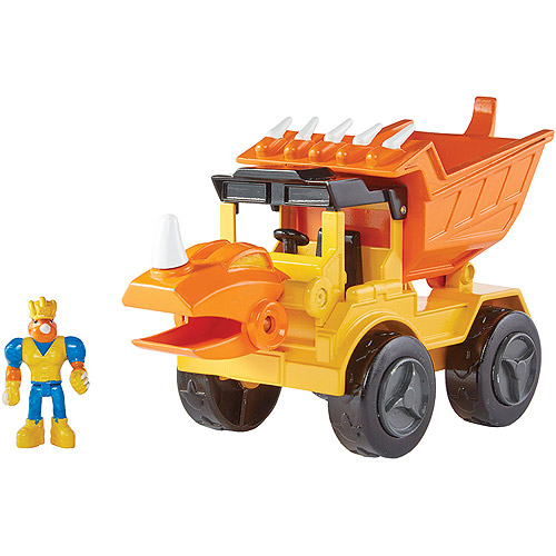 Educational Insights Rocko The Styracosaurus Dump Truck