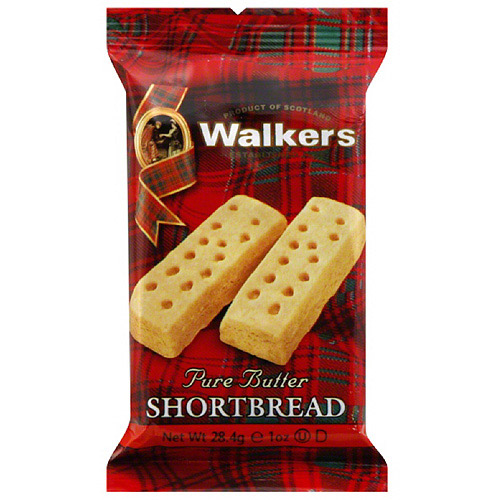Shortbread Fngr 2ct, 1 Oz (pack Of 12)