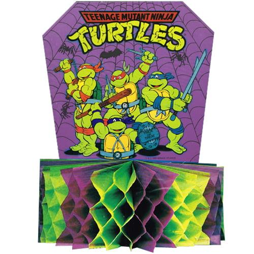 Teenage Mutant Ninja Turtles Vintage 1989 Halloween Honeycomb Centerpiece (1ct)