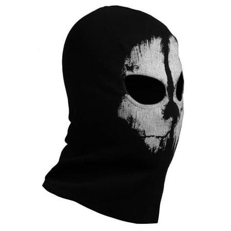 SUAVO Ghosts Logan Last Mission Balaclava Full Face Skull Mask - Logan Henderson Halloween