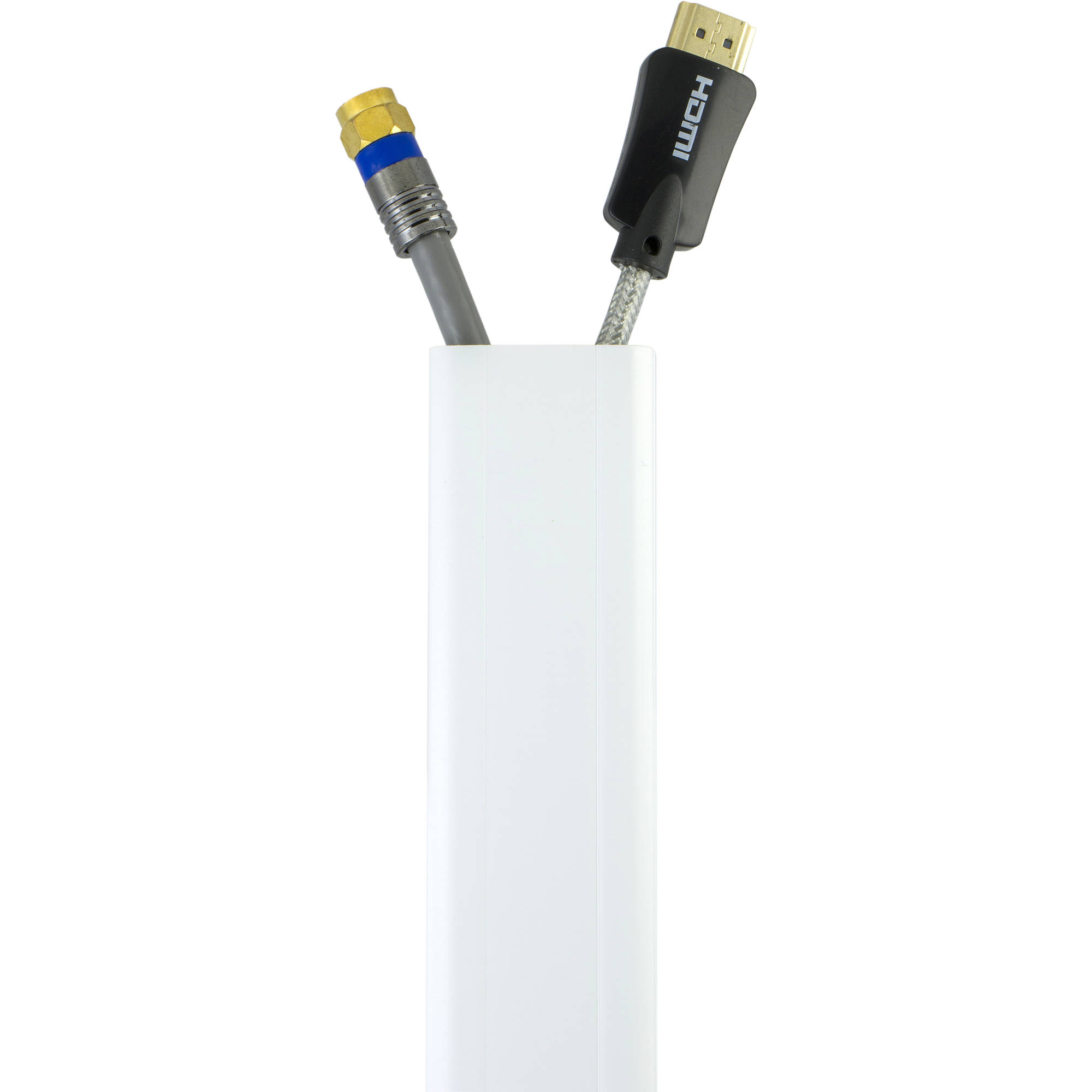 Power Gear CableNeat Cable Cover, 4-Pack, White, 33636 - Walmart.com