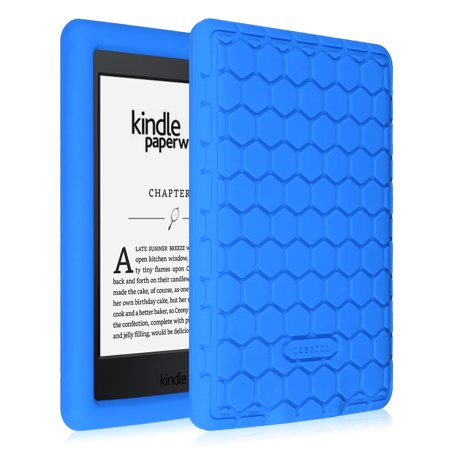 Fintie Silicone Case for Amazon Kindle Paperwhite - Lightweight Anti Slip  Shockproof Cover