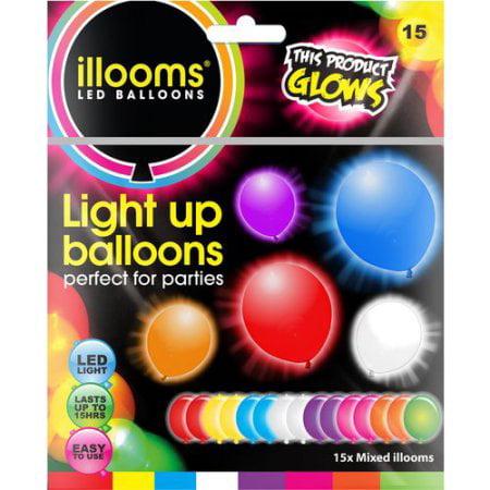 Illoom Balloons Single Pack Illooms Sk Walmartcom